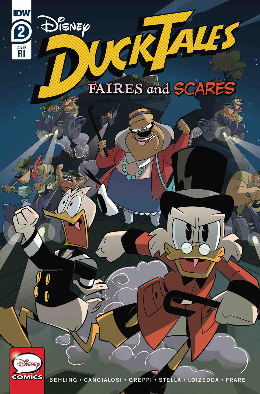 Ducktales Faires And Scares #2 Cover C Incentive Ducktales Creative Team Variant Cover