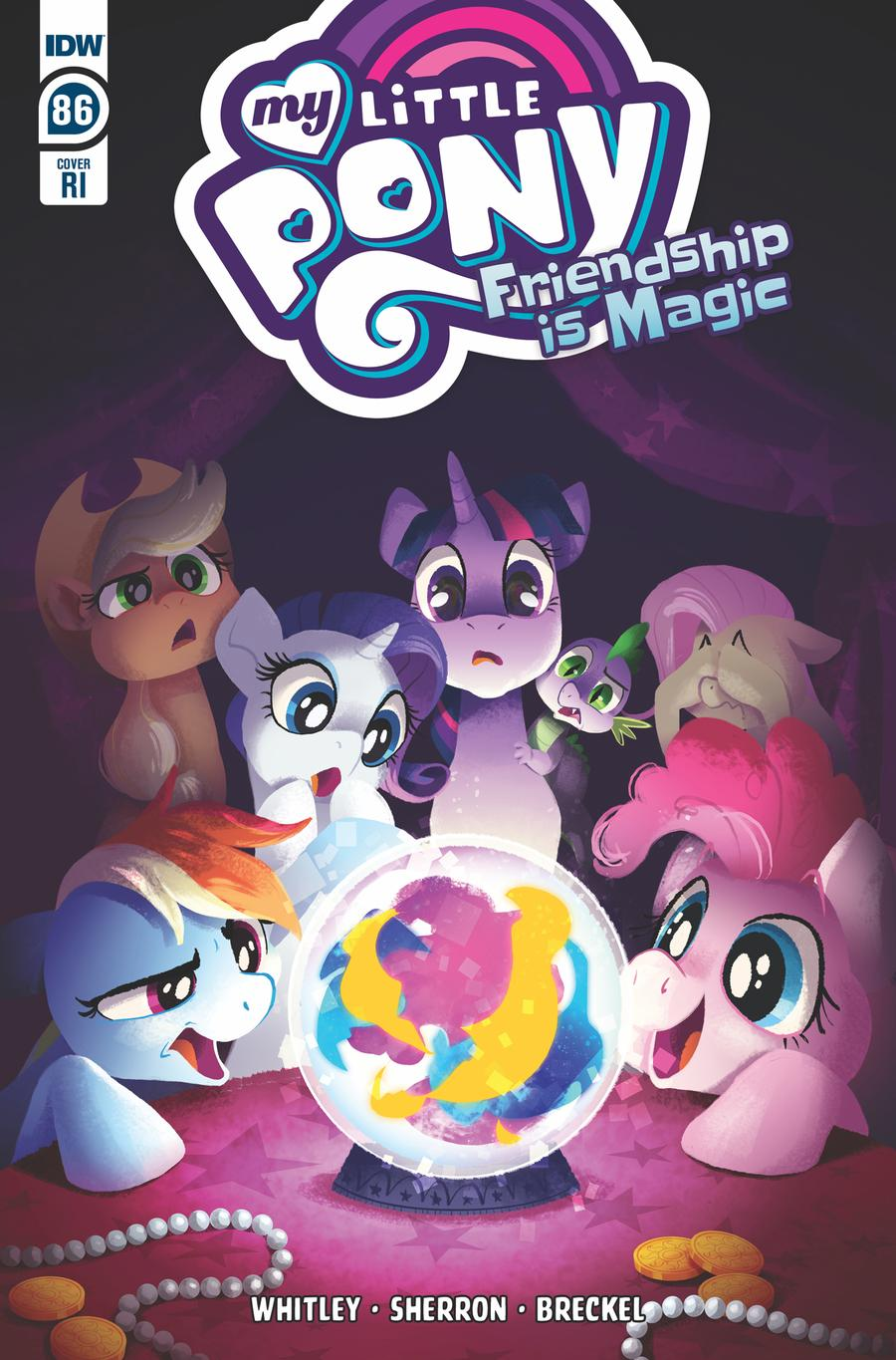 My Little Pony Friendship Is Magic #86 Cover C Incentive Beth Hughes Variant Cover