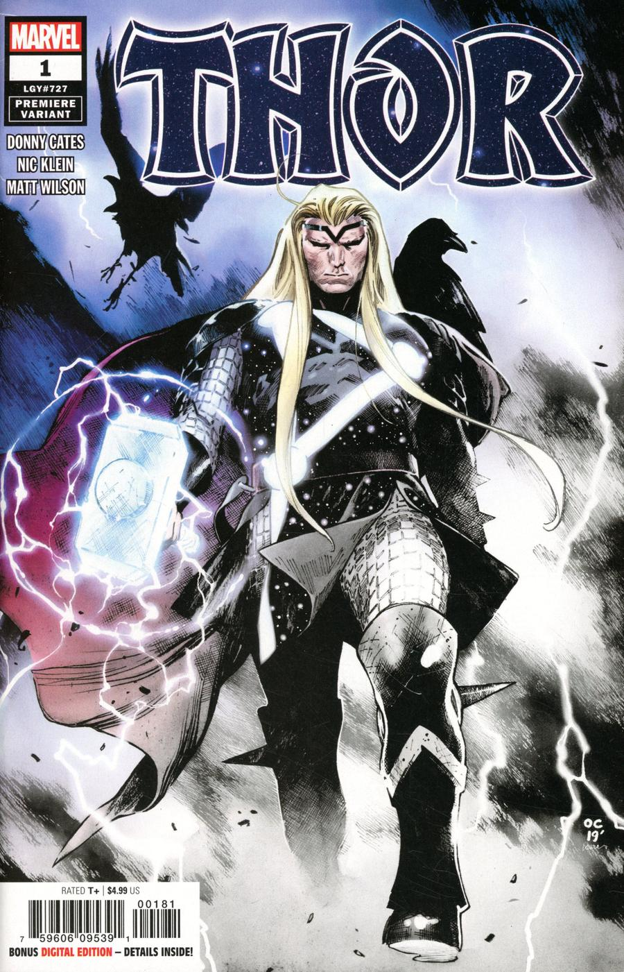 Thor Vol 6 #1 Cover R Incentive Olivier Coipel Premiere Variant Cover