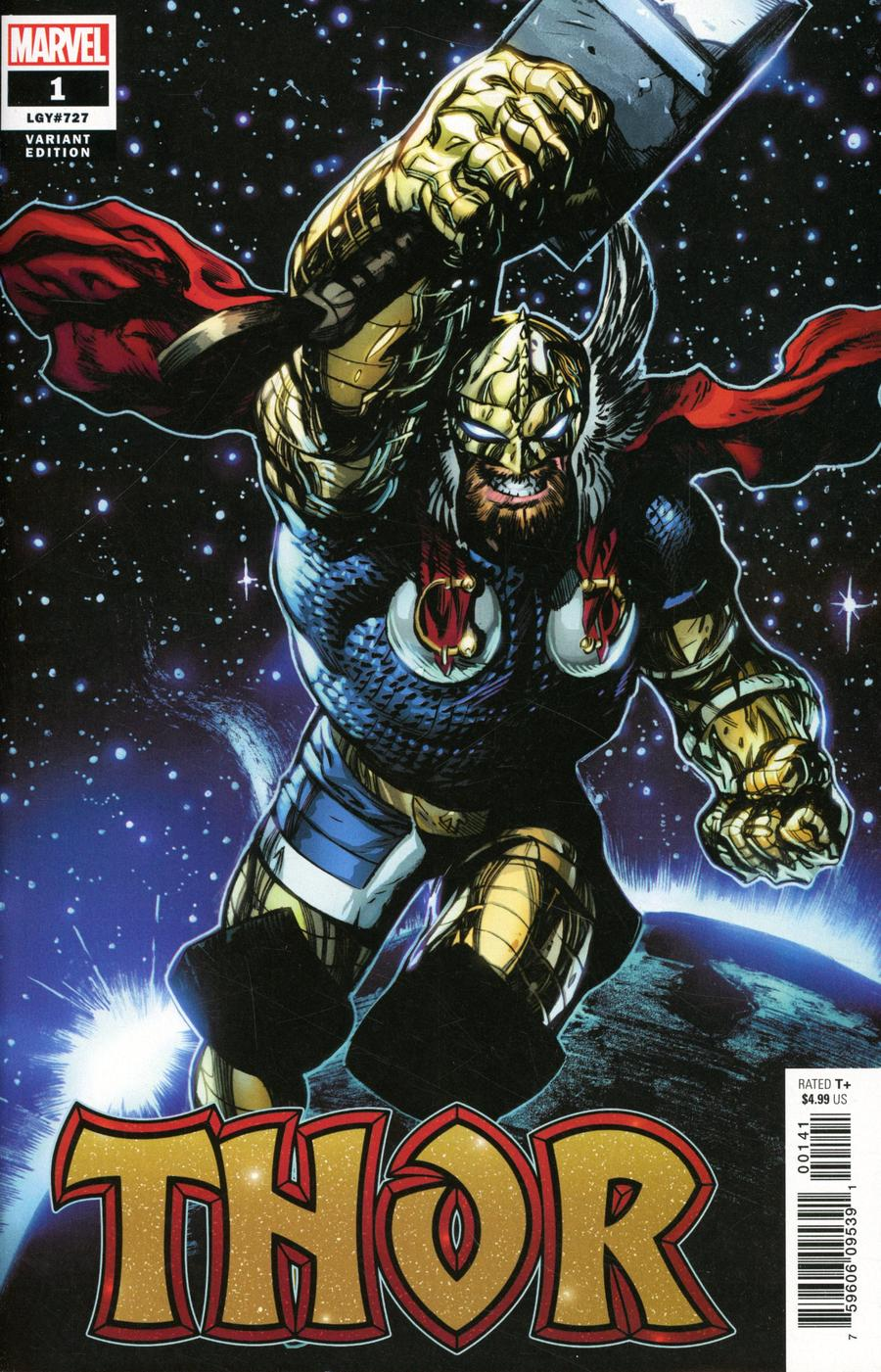 Thor Vol 6 #1 Cover N Incentive Ryan Stegman Variant Cover