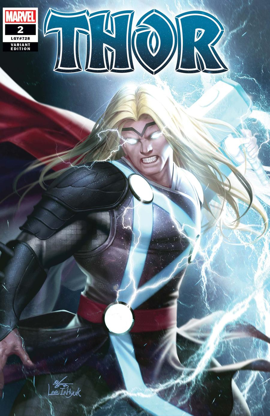 Thor Vol 6 #2 Cover C Incentive Inhyuk Lee Variant Cover