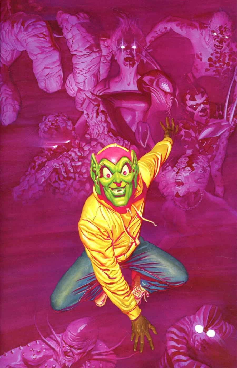 Marvels X #1 Cover F Incentive Alex Ross Virgin Cover