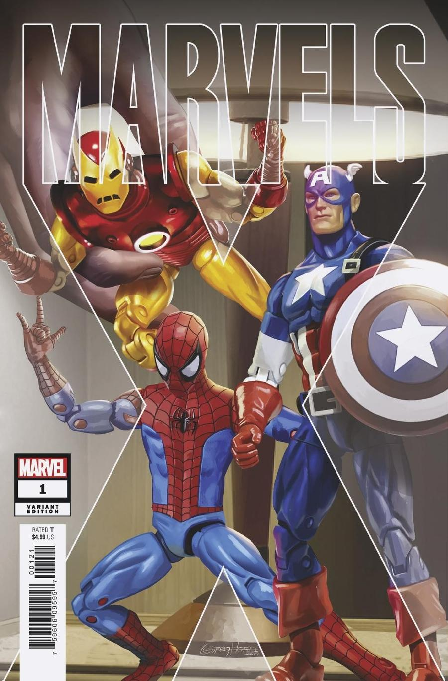 Marvels X #1 Cover D Incentive Greg Horn Variant Cover