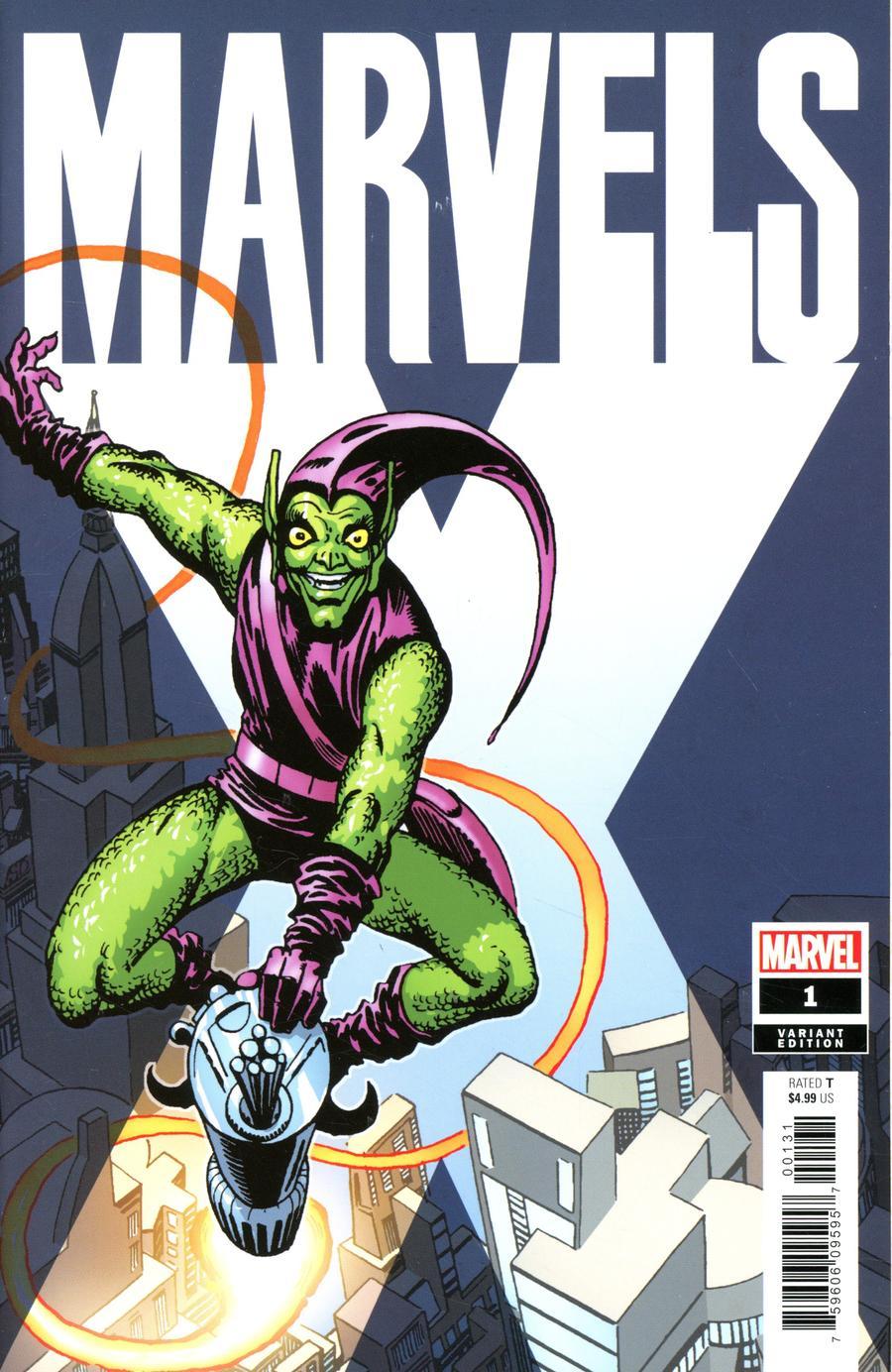Marvels X #1 Cover E Incentive Steve Ditko Hidden Gem Variant Cover