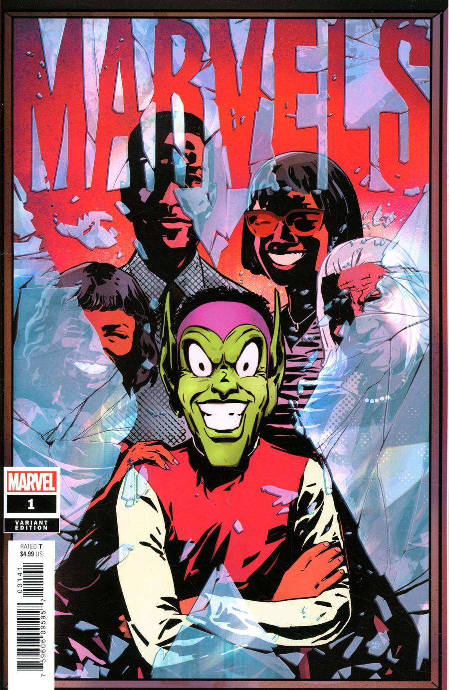 Marvels X #1 Cover C Incentive Well-Bee Variant Cover