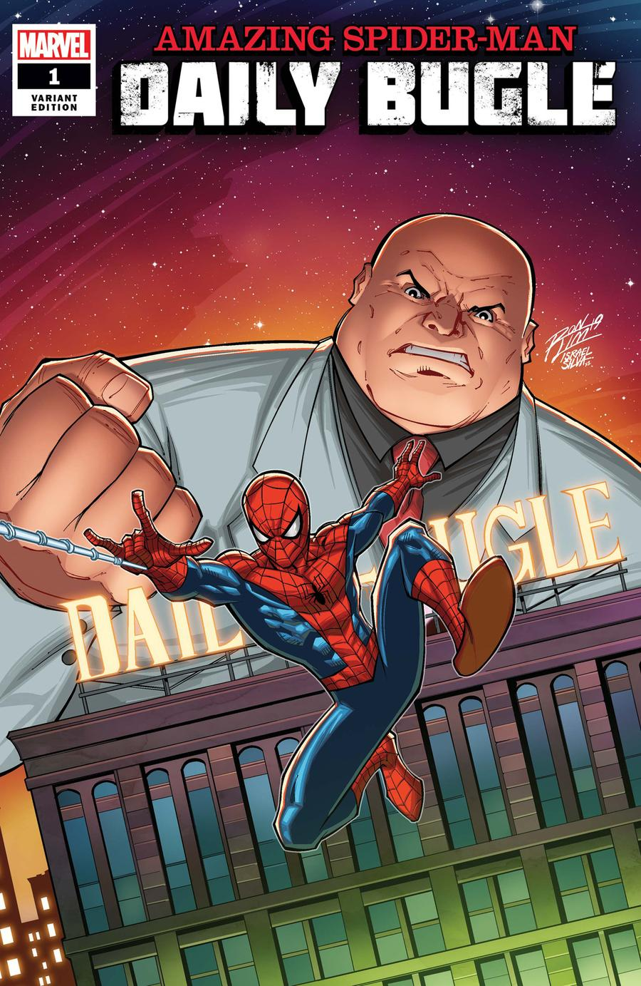 Amazing Spider-Man Daily Bugle #1 Cover C Incentive Ron Lim Variant Cover