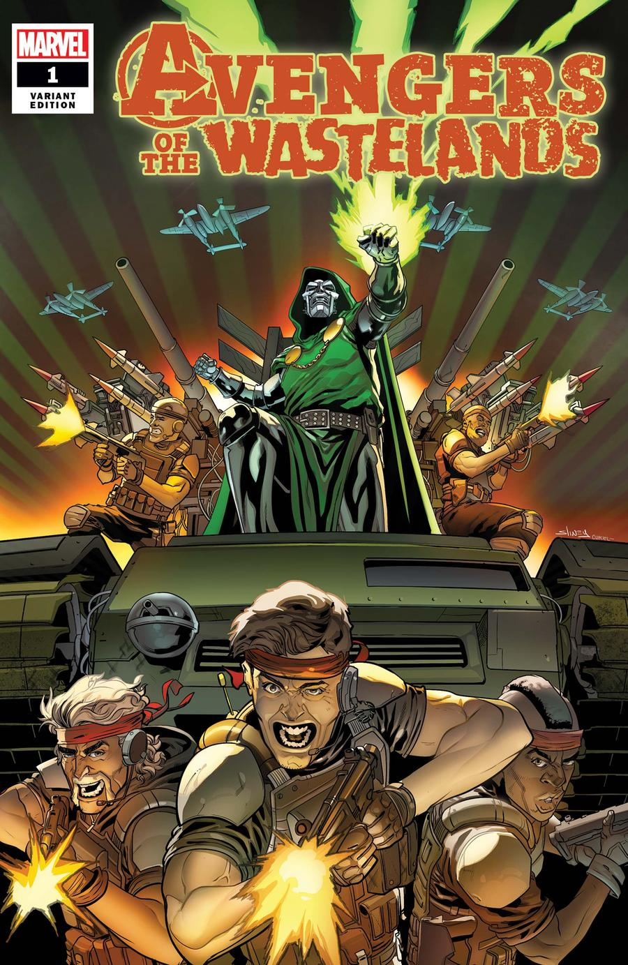 Avengers Of The Wastelands #1 Cover C Incentive Will Sliney Variant Cover