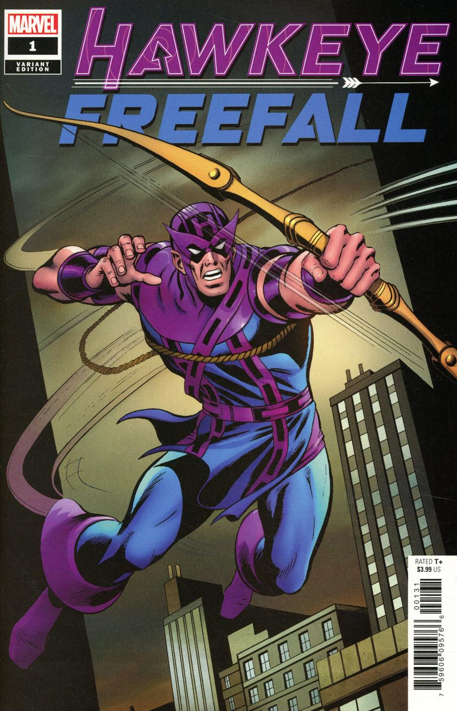 Hawkeye Freefall #1 Cover D Incentive Dave Cockrum Hidden Gem Variant Cover