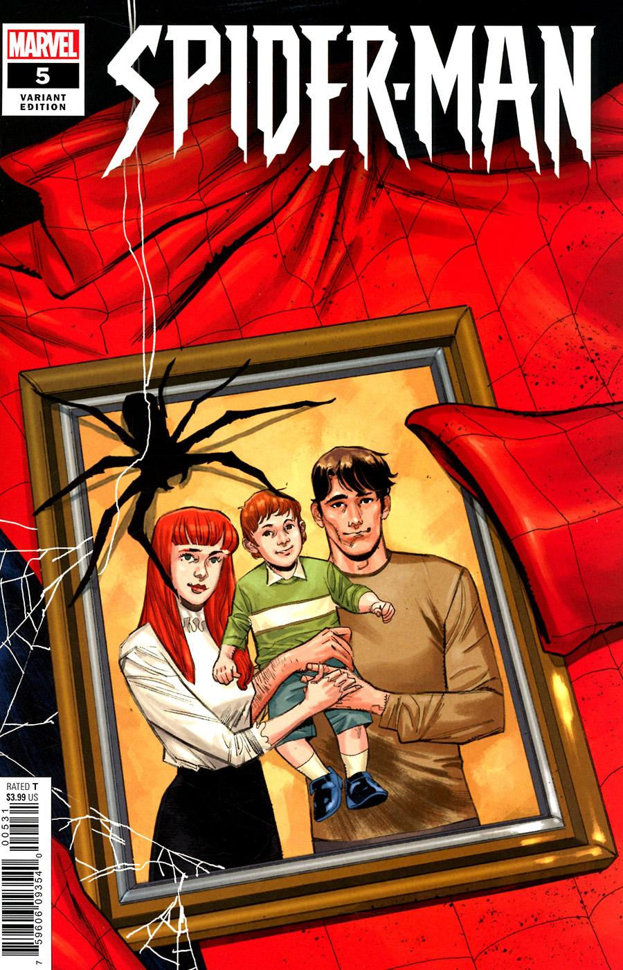 Spider-Man Vol 3 #5 Cover C Incentive Sara Pichelli Variant Cover