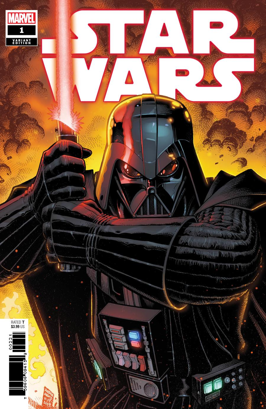 Star Wars Vol 5 #1 Cover F Incentive Arthur Adams Variant Cover