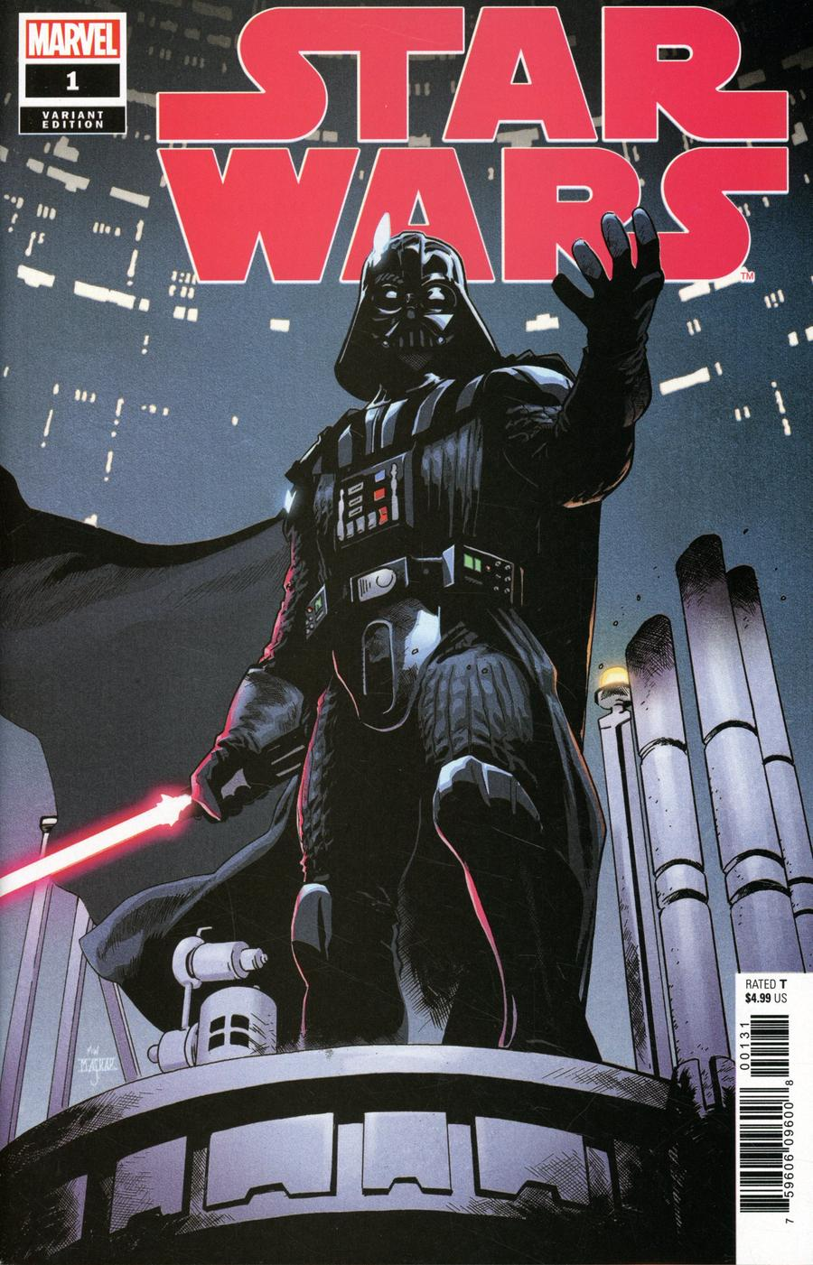 Star Wars Vol 5 #1 Cover G Incentive Mahmud Asrar Darth Vader Variant Cover
