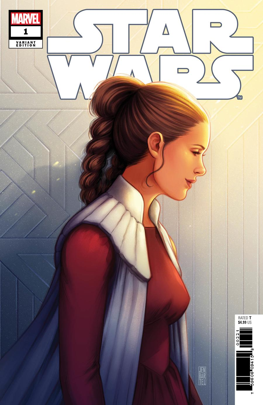 Star Wars Vol 5 #1 Cover H Incentive Jen Bartel Princess Leia Variant Cover