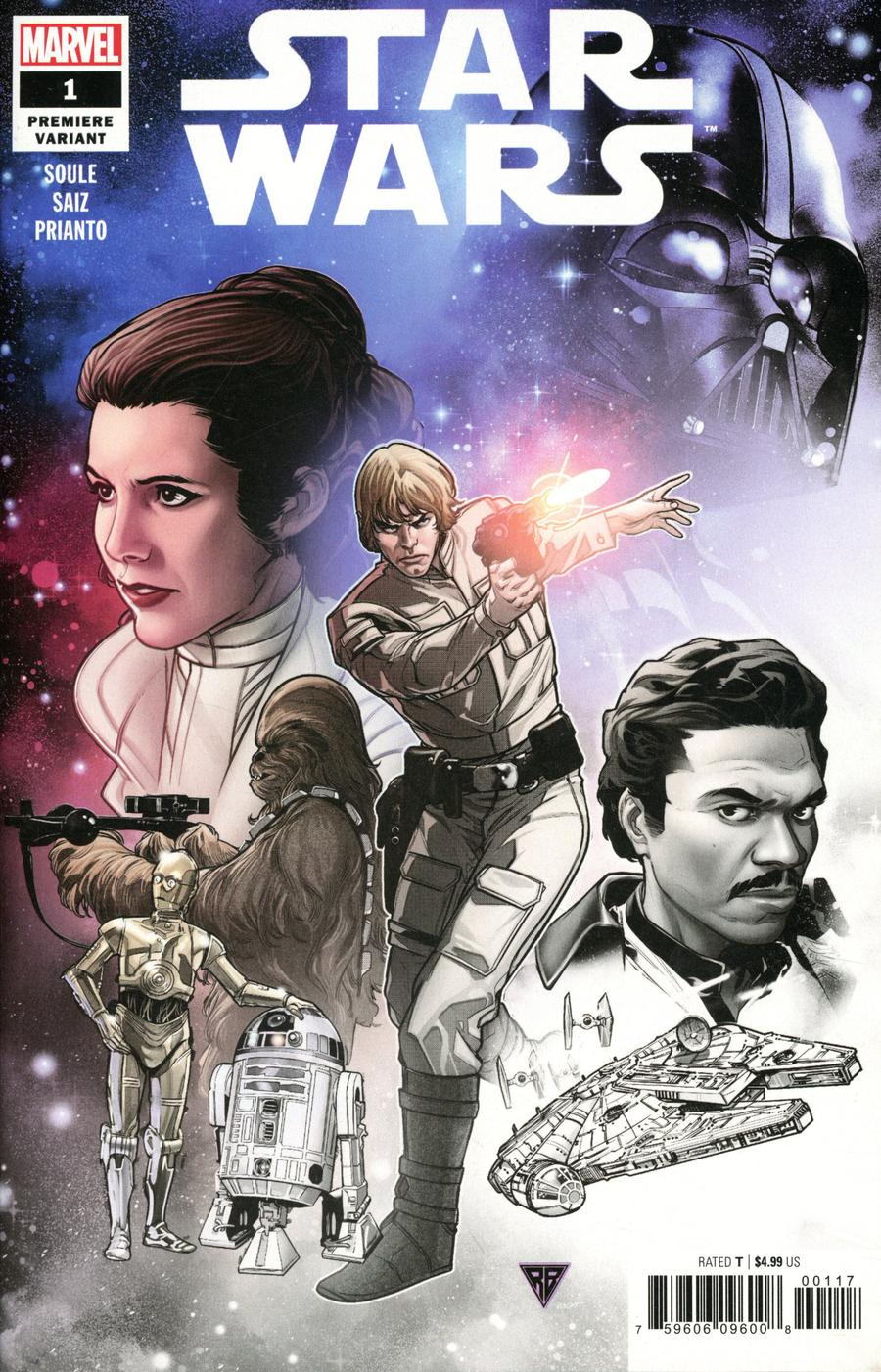 Star Wars Vol 5 #1 Cover J Incentive RB Silva Premiere Variant Cover