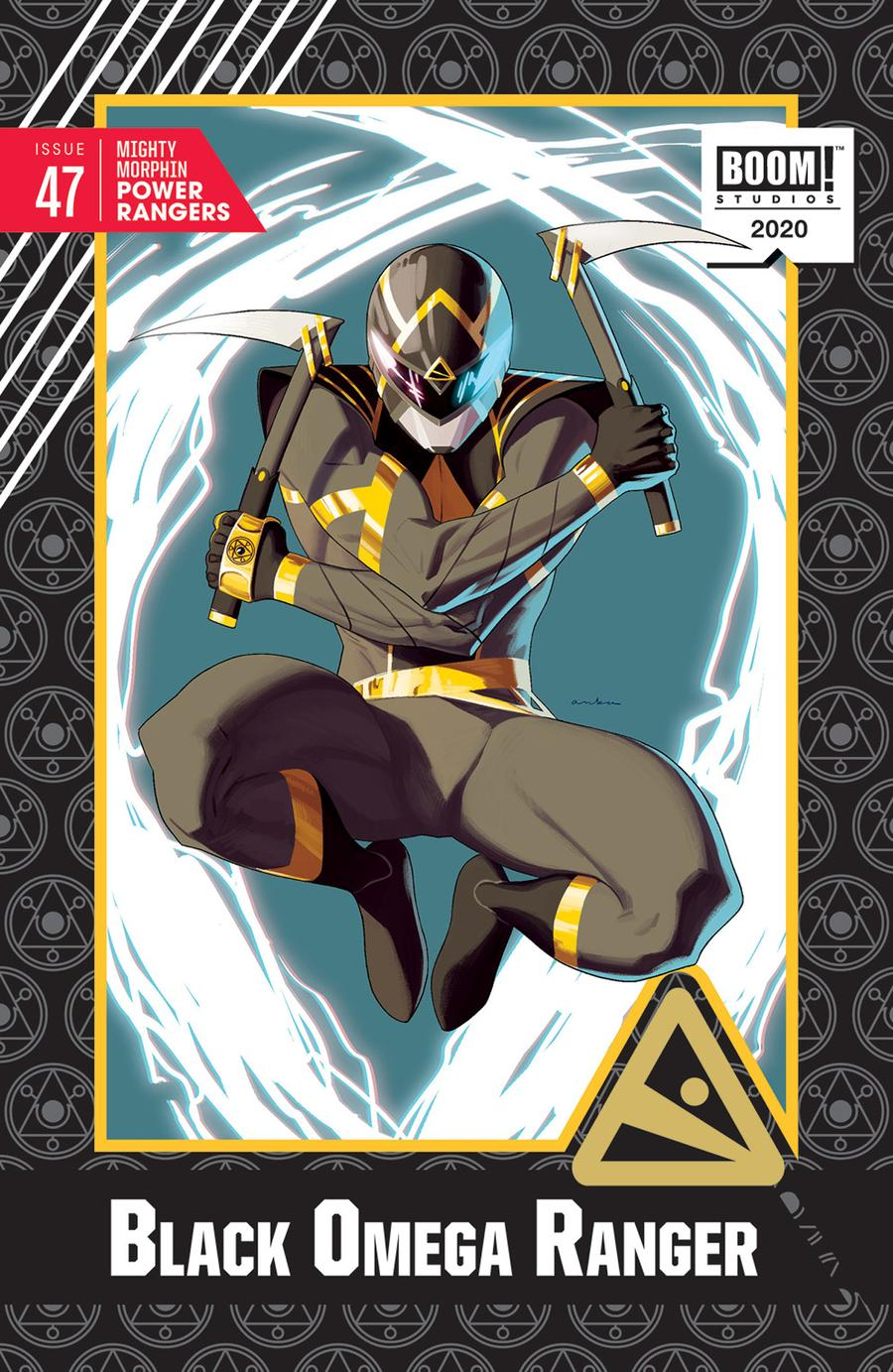 Mighty Morphin Power Rangers (BOOM Studios) #47 Cover D Incentive Kris Anka Variant Cover
