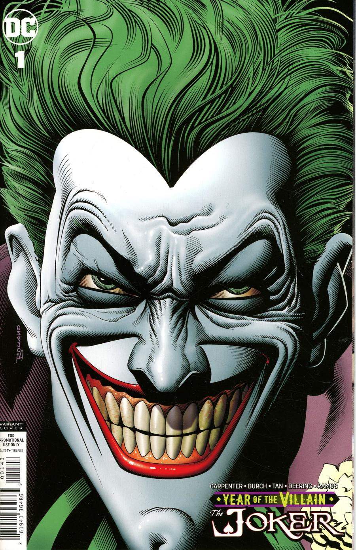 Joker Year Of The Villain #1 Cover C Variant Brian Bolland Cover