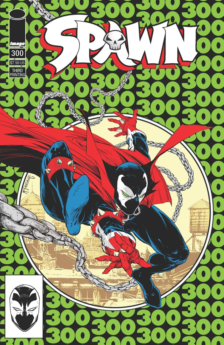 Spawn #300 Cover S 3rd Ptg Variant Todd McFarlane Cover