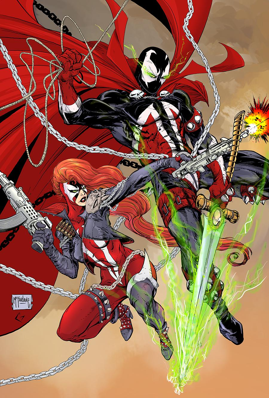 Spawn #302 Cover E Variant Todd McFarlane Virgin Cover