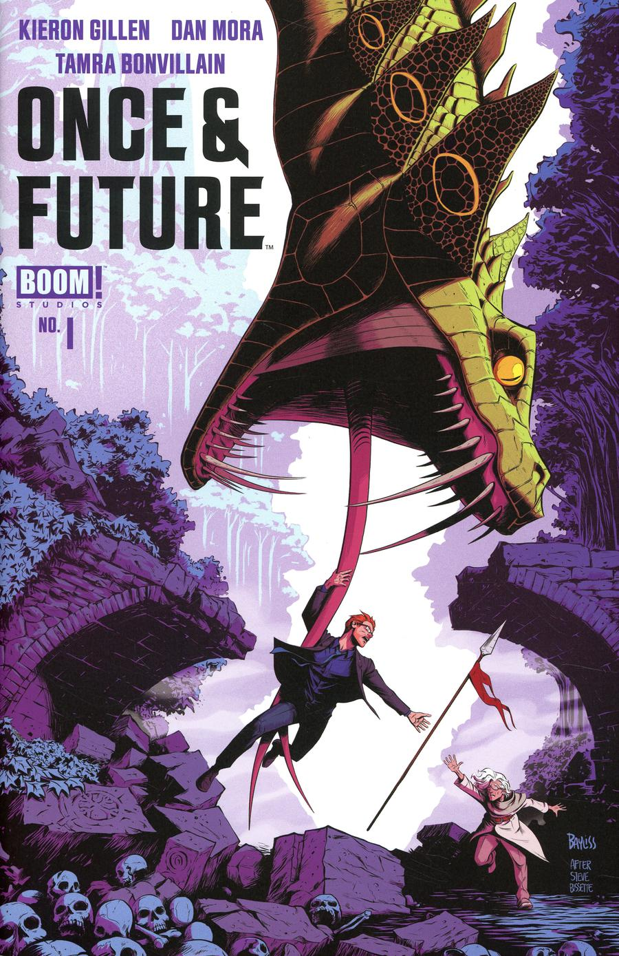 Once & Future #1 Cover H 7th Ptg Variant Daniel Bayliss Cover