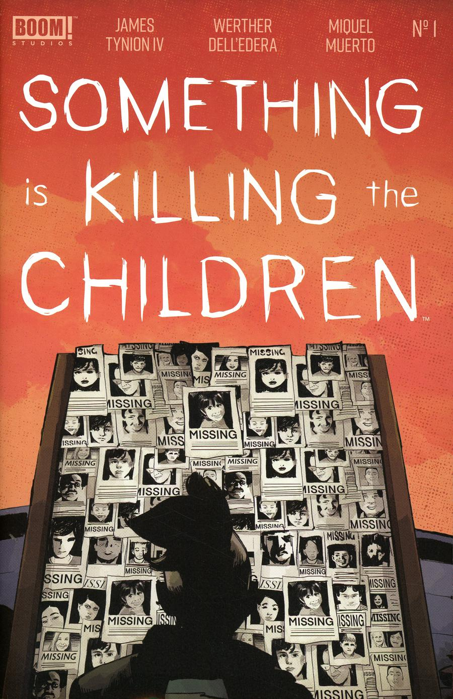 Something Is Killing The Children #1 Cover G 5th Ptg Variant Werther DellEdera Cover