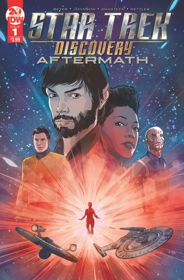 Star Trek Discovery Aftermath #1 Cover D 2nd Ptg Variant Angel Hernandez Cover