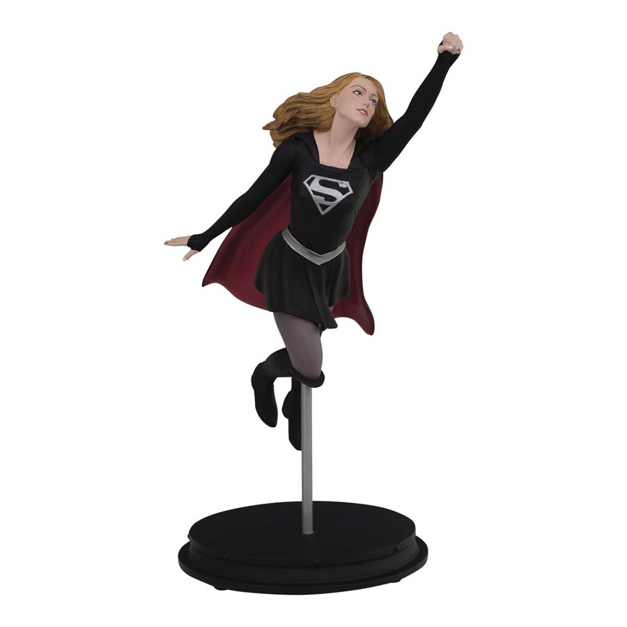 DC TV Dark Supergirl 9-Inch Resin Statue