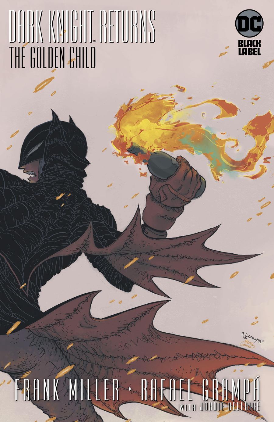 Dark Knight Returns The Golden Child #1 Cover B Variant Rafael Grampa Cover