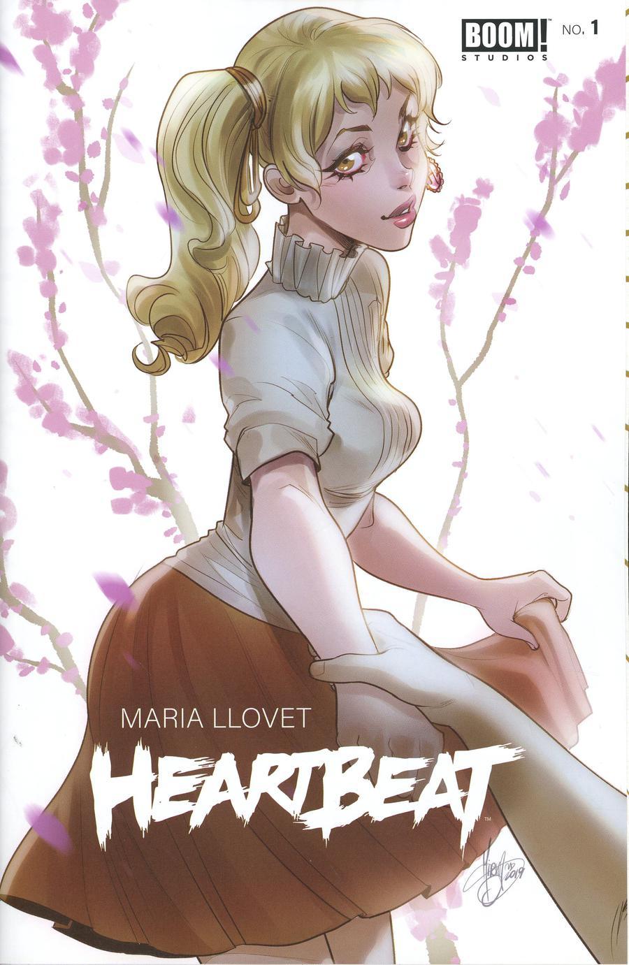 Heartbeat #1 Cover B Variant Mirka Andolfo Cover