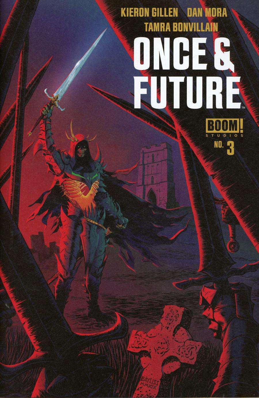 Once & Future #3 Cover B 2nd Ptg