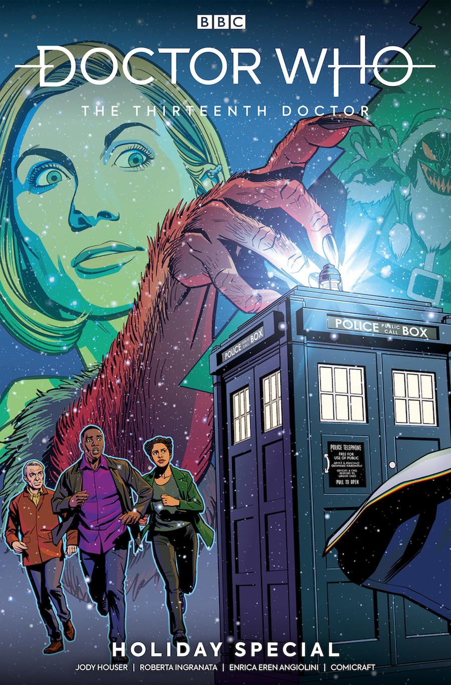 LCSD 2019 Doctor Who 13th Doctor Holiday Special #1 Variant Christopher Jones Connecting Cover
