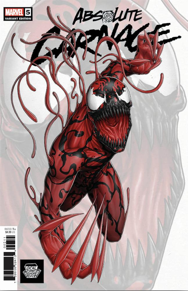 LCSD 2019 Absolute Carnage #5 Cover A John Tyler Christopher Variant Cover