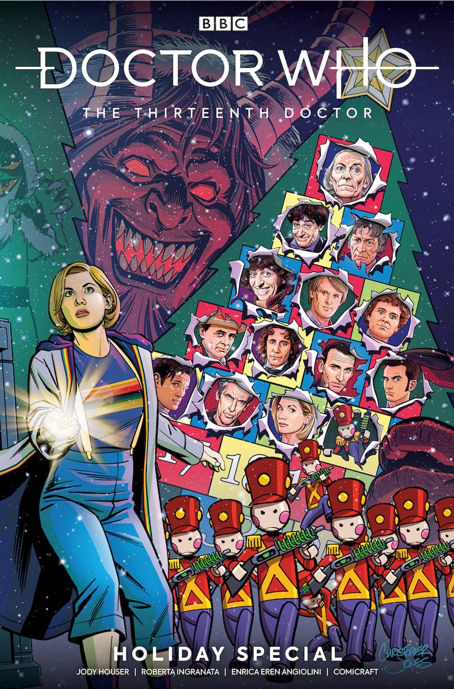 LCSD 2019 Doctor Who 13th Doctor Holiday Special #2 Variant Christopher Jones Connecting Cover