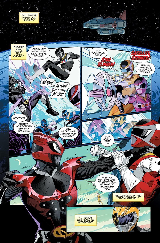 Mighty Morphin Power Rangers (BOOM Studios) #45 Cover C Variant Dan Mora Cover