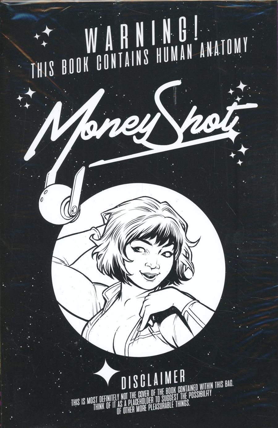 Money Shot #1 Cover H 2nd Ptg Variant Chris Burnham Black Bag Cover With Polybag