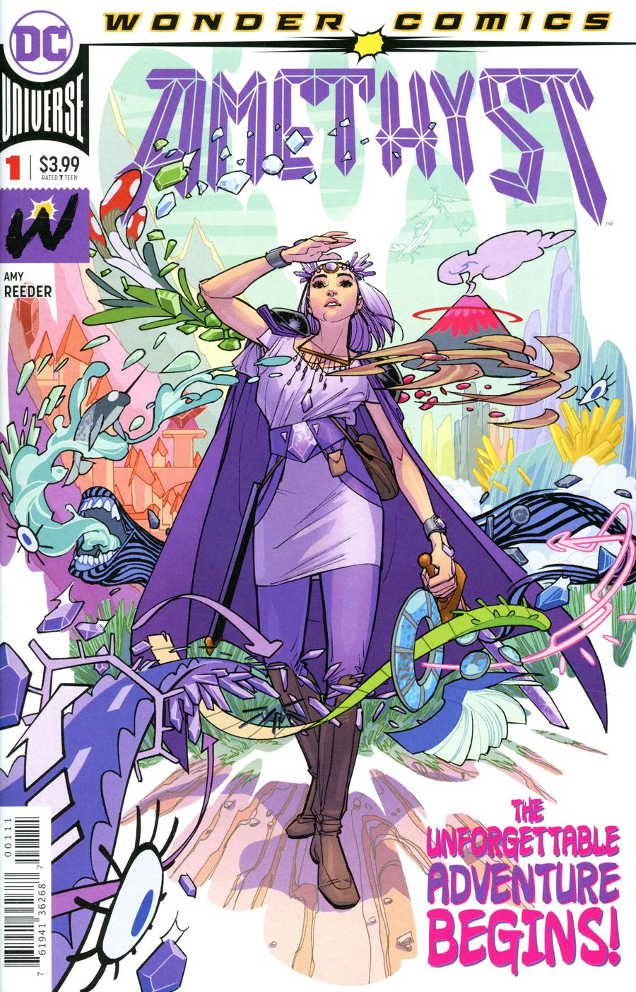 Amethyst Vol 3 #1 Cover A Regular Amy Reeder Cover