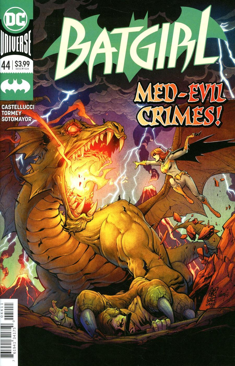 Batgirl Vol 5 #44 Cover A Regular Giuseppe Camuncoli & Cam Smith Cover