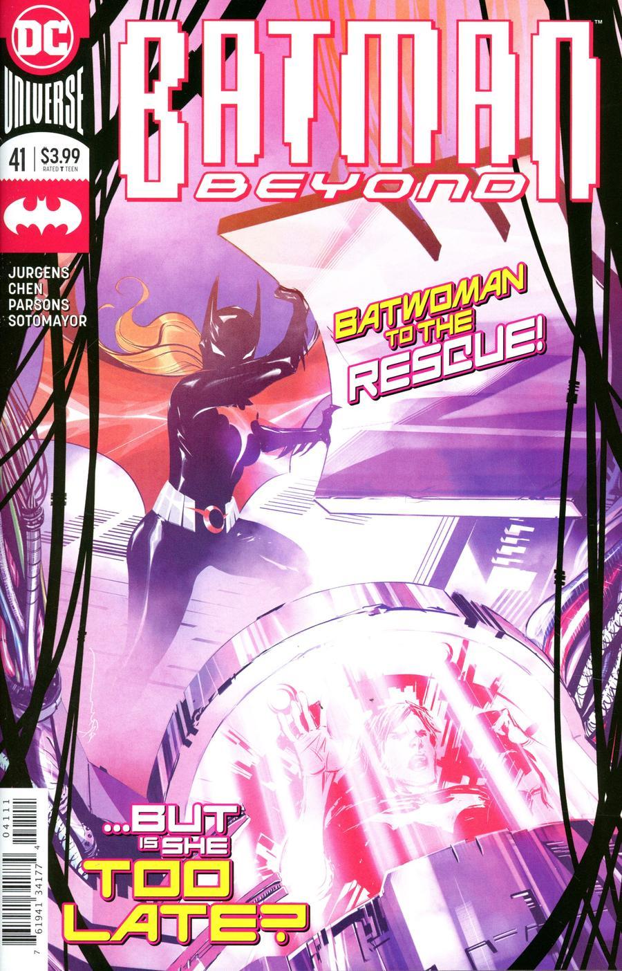 Batman Beyond Vol 6 #41 Cover A Regular Dustin Nguyen Cover