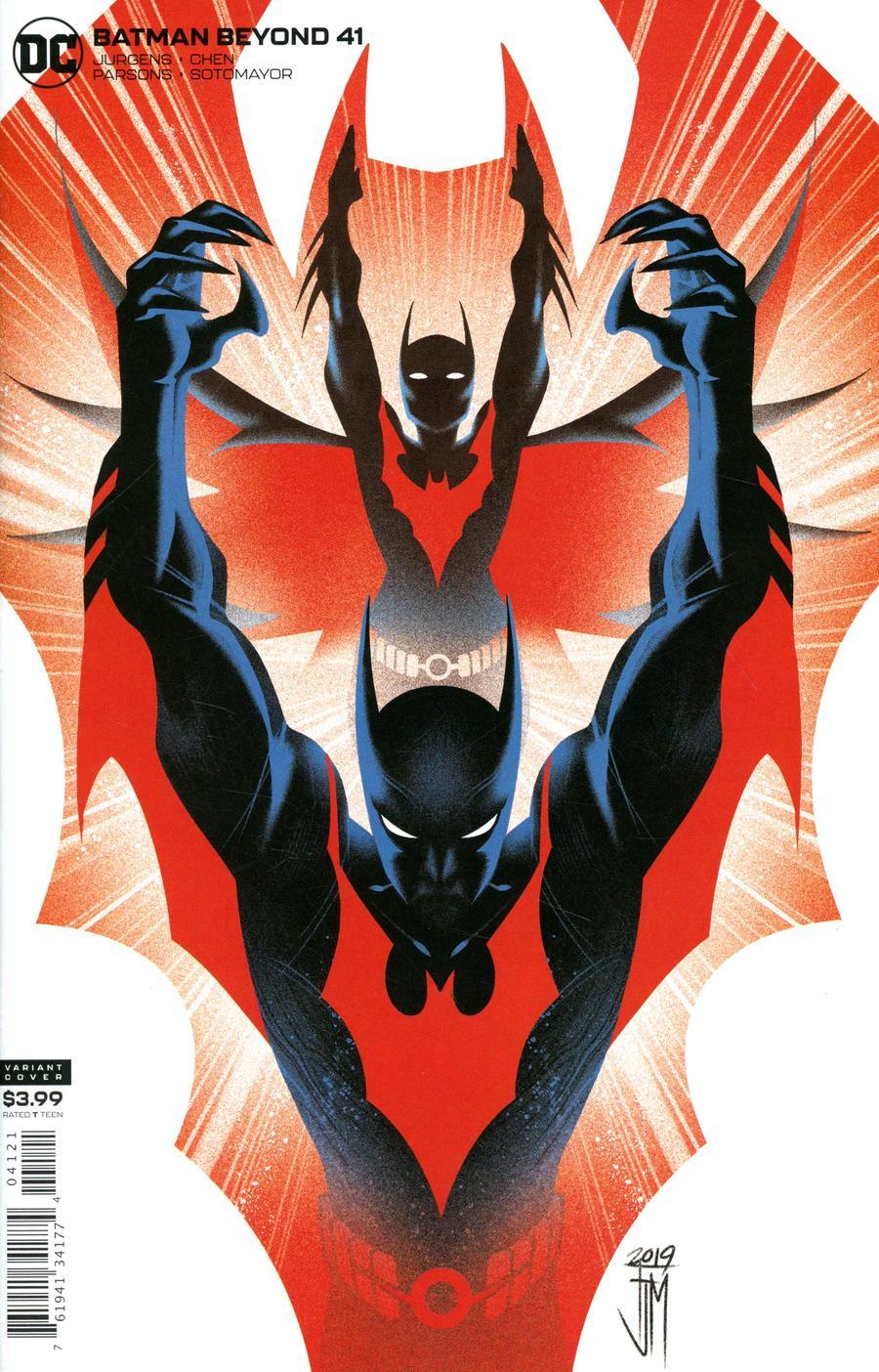 Batman Beyond Vol 6 #41 Cover B Variant Francis Manapul Cover