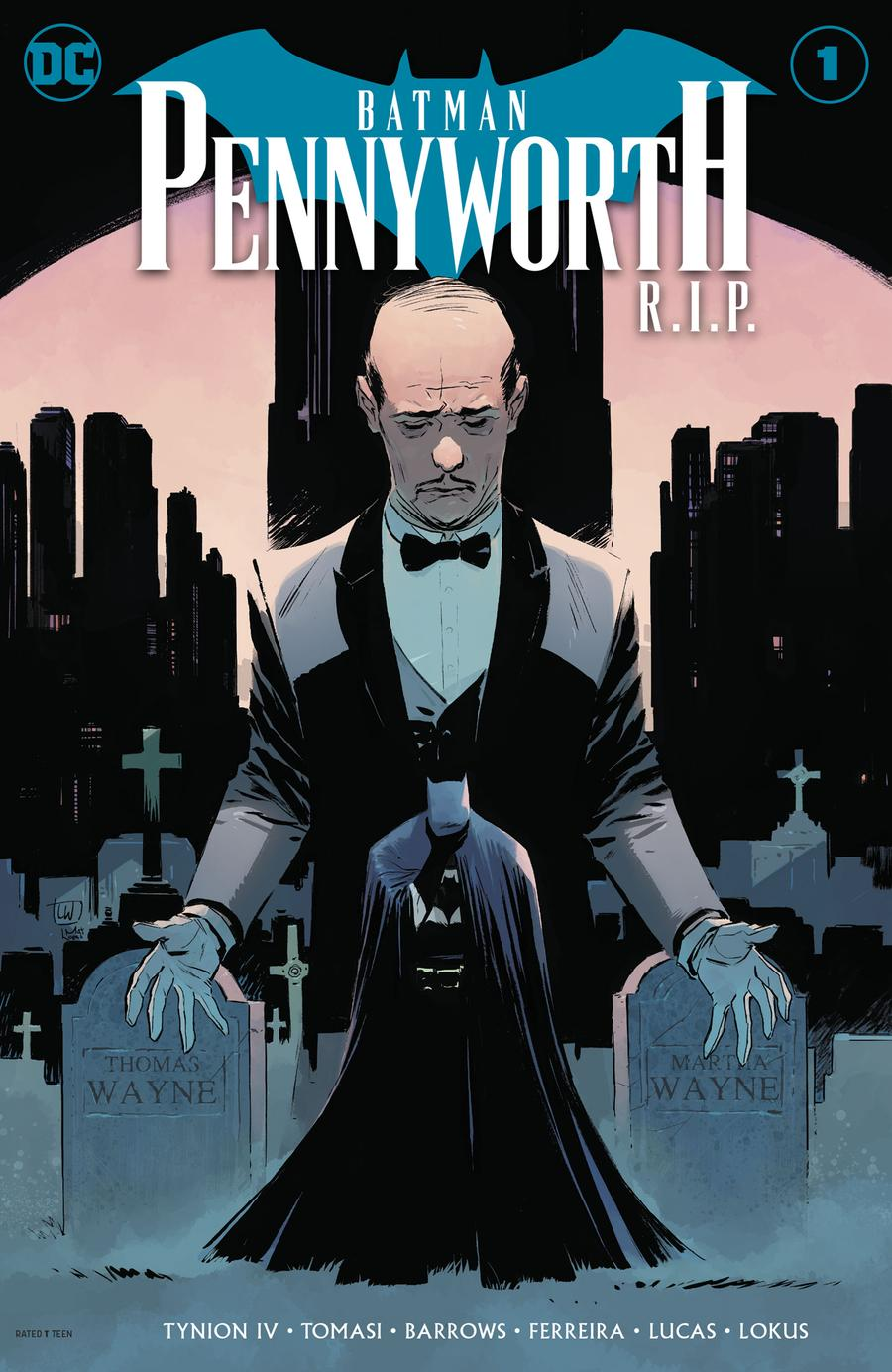 Batman Pennyworth RIP #1 Cover A Lee Weeks Cover