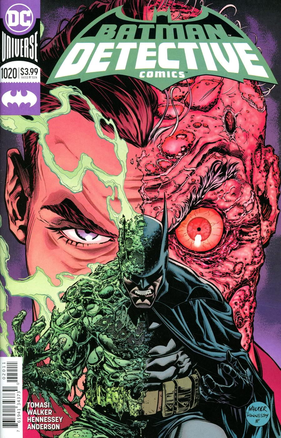 Detective Comics Vol 2 #1020 Cover A Regular Brad Walker & Andrew Hennessy Cover