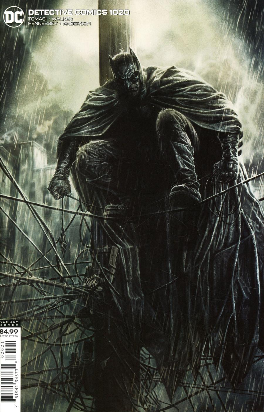 Detective Comics Vol 2 #1020 Cover B Variant Lee Bermejo Card Stock Cover