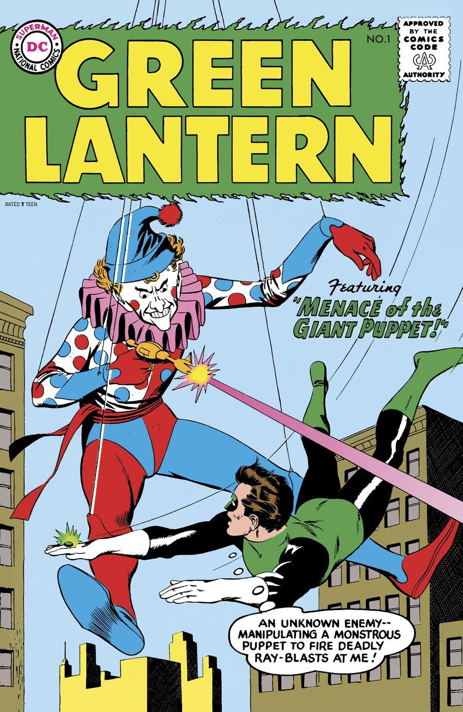 Green Lantern Vol 2 #1 Cover C Facsimile Edition