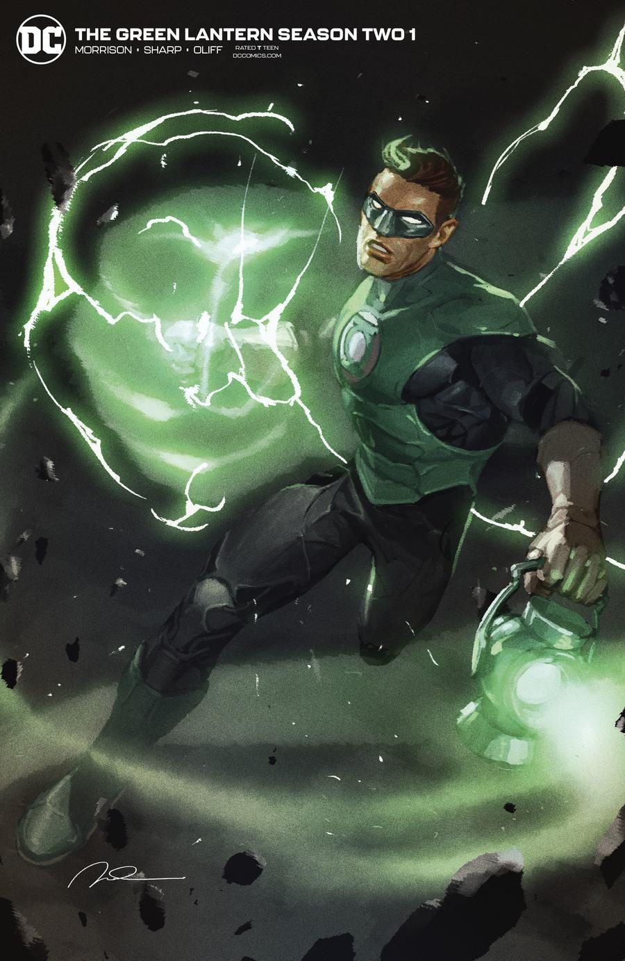 Green Lantern Vol 6 Season 2 #1 Cover B Variant Gerald Parel Cover