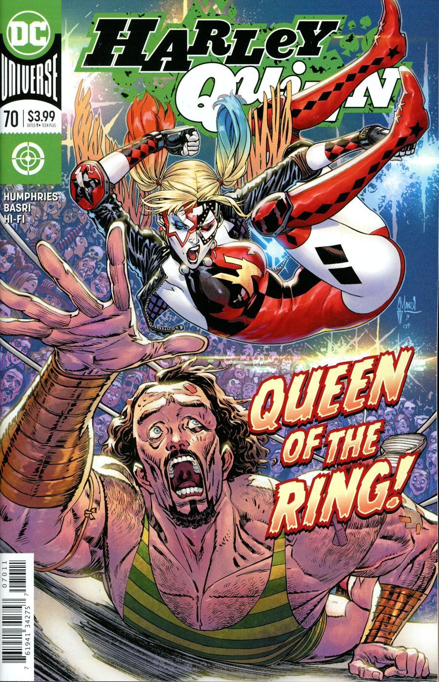 Harley Quinn Vol 3 #70 Cover A Regular Guillem March Cover