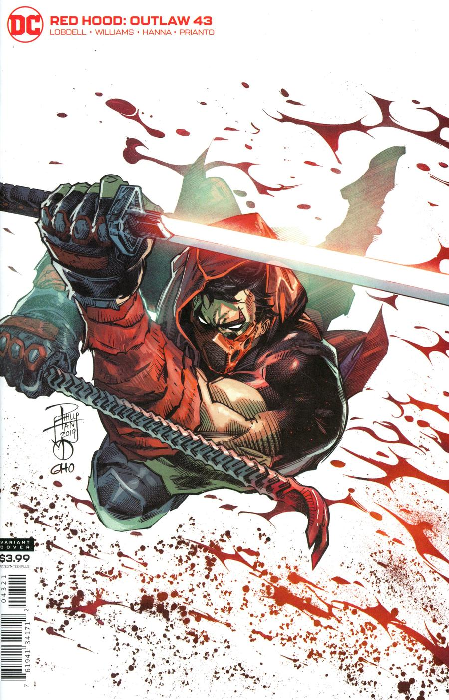 Red Hood Outlaw #43 Cover B Variant Philip Tan & Marc Deering Cover