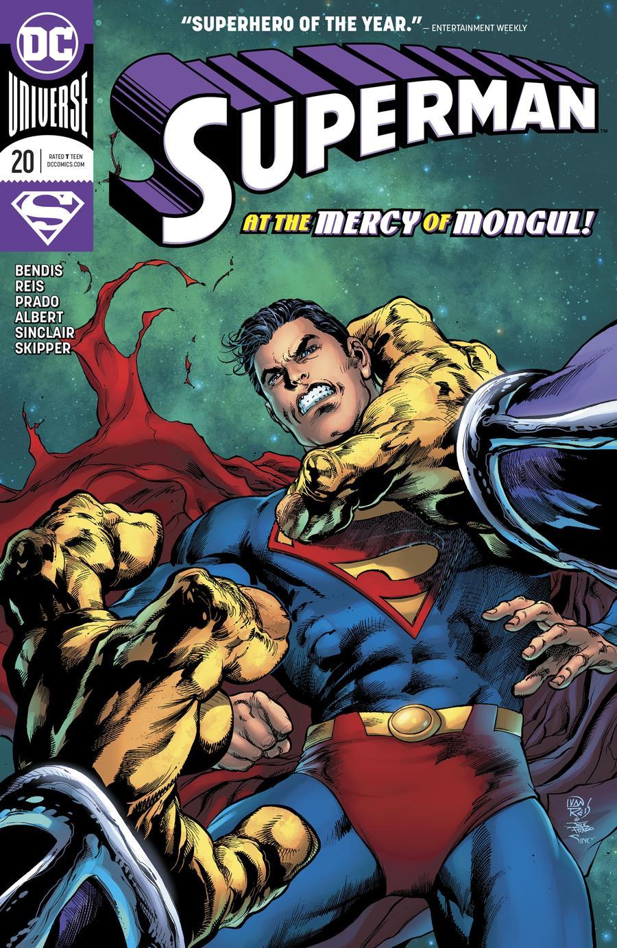 Superman Vol 6 #20 Cover A Regular Ivan Reis & Joe Prado Cover