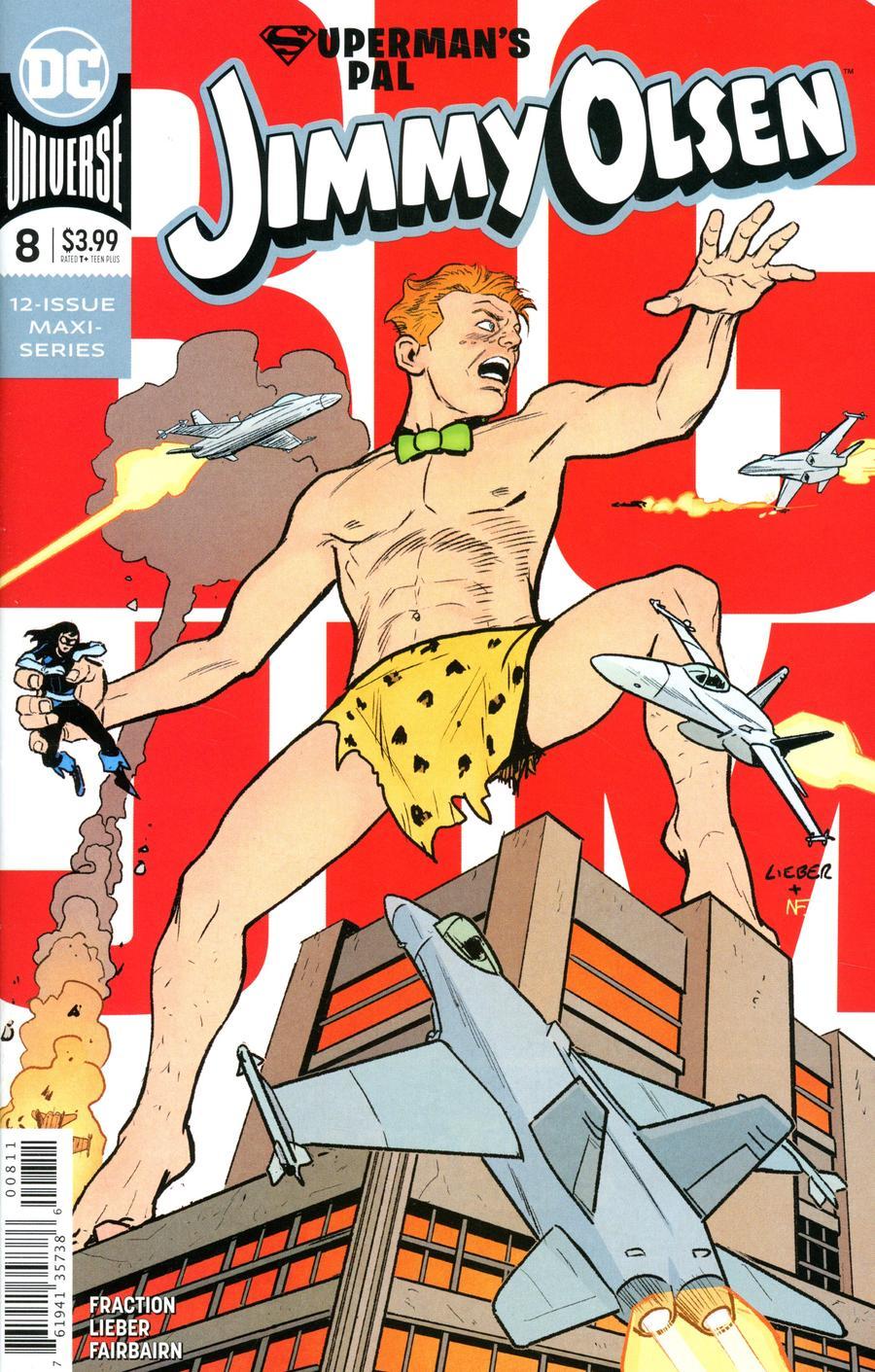Supermans Pal Jimmy Olsen Vol 2 #8 Cover A Regular Steve Lieber Cover