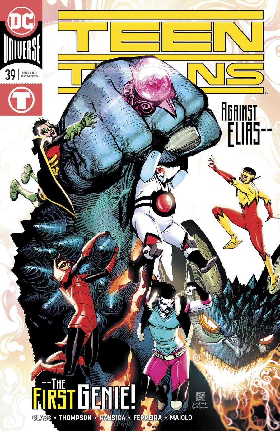 Teen Titans Vol 6 #39 Cover A Regular Bernard Chang Cover