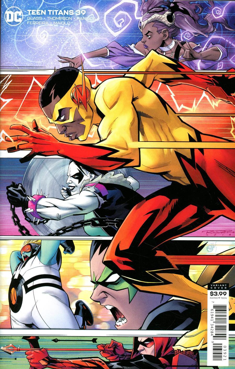 Teen Titans Vol 6 #39 Cover B Variant Khary Randolph Cover
