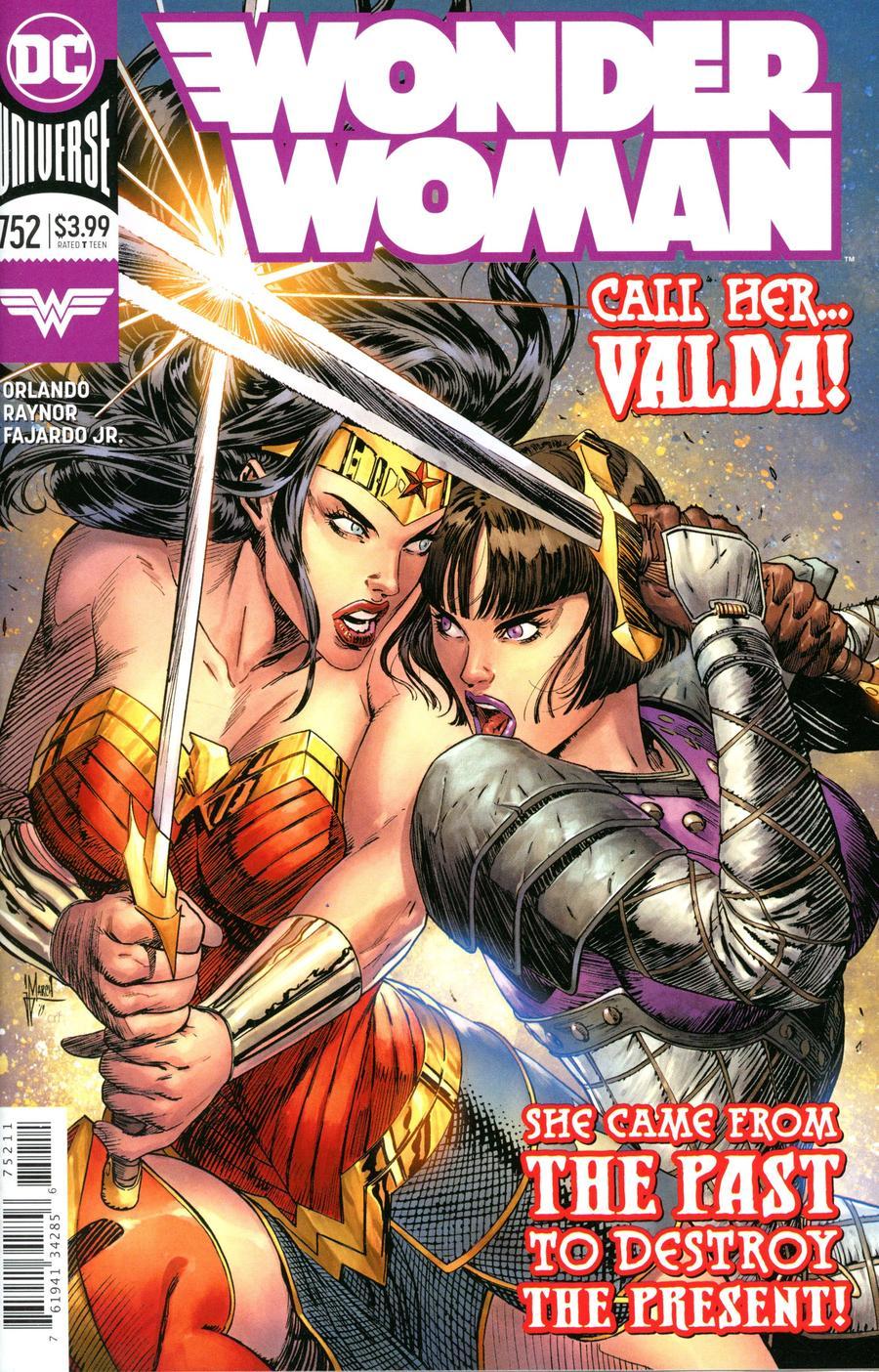 Wonder Woman Vol 5 #752 Cover A Regular Guillem March Cover