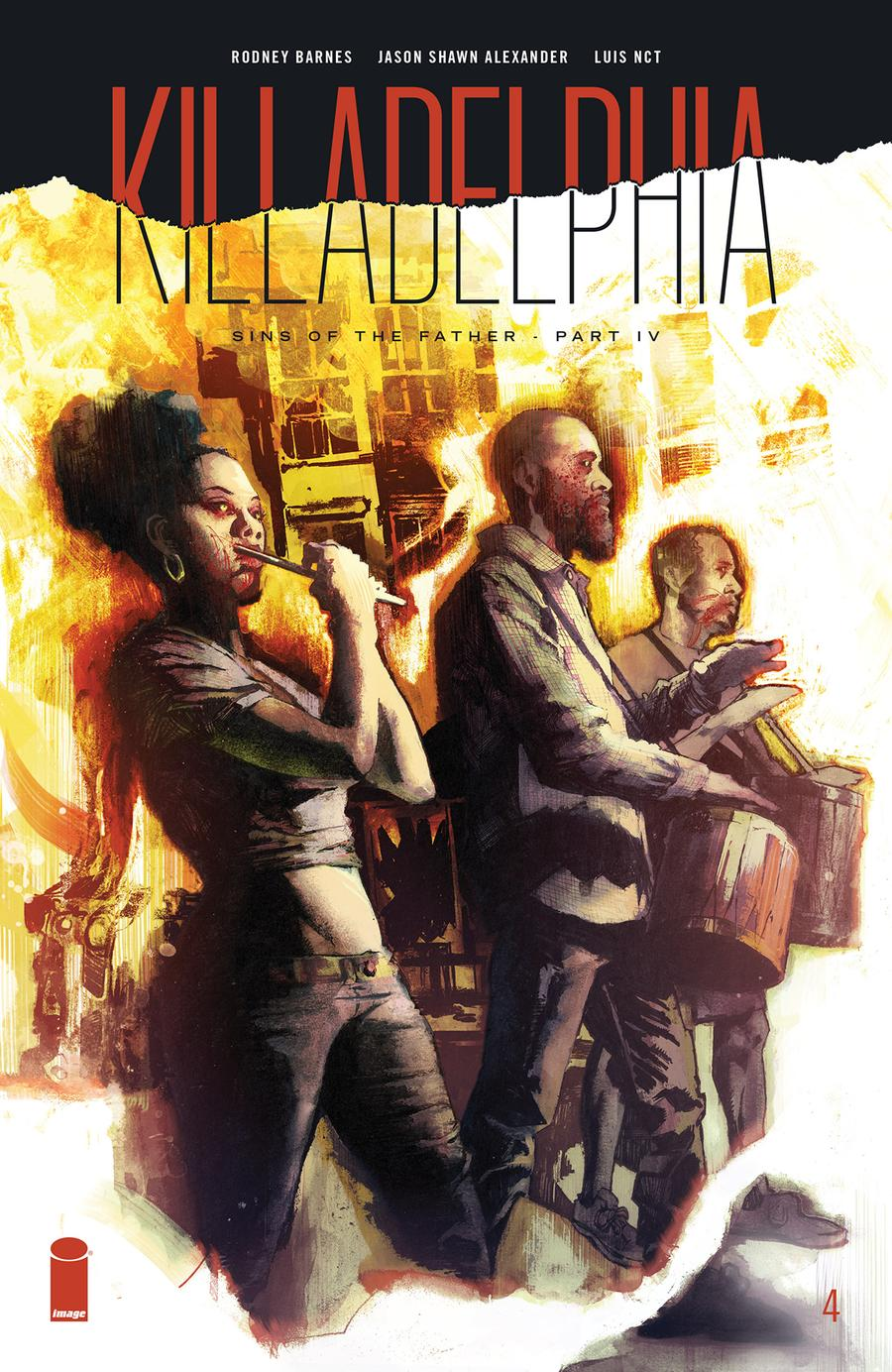 Killadelphia #4 Cover A Regular Jason Shawn Alexander Cover